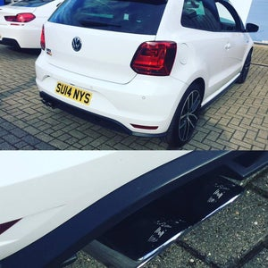 Image of Remus cat back exhaust VW Polo 1.8tsi 2015+