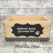Image of Nightmare Before Christmas inspired wooden crate