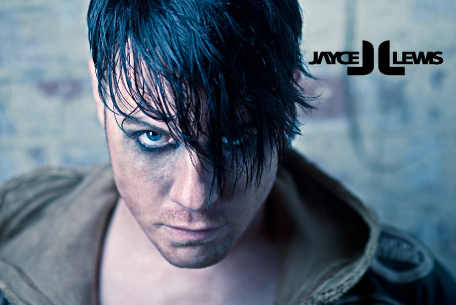 Image of Jayce Lewis - Blue Stare A2 Poster Print