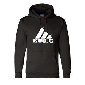 Image of Official EDO.G Black Champion Hoodie Sweatshirt (Limited Edition)