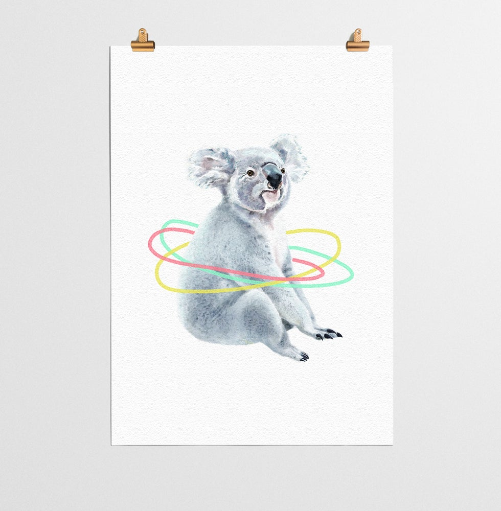 Image of Koala Animal Nursery Print
