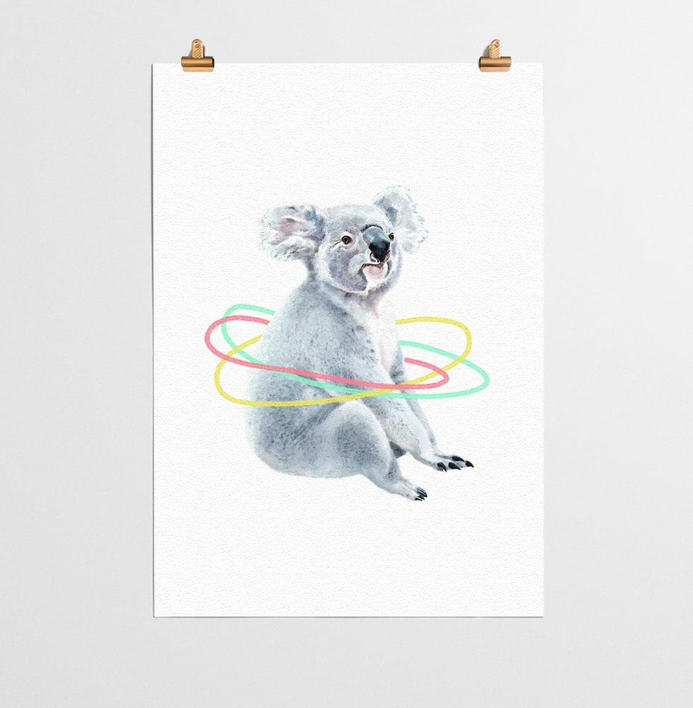 Image of Koala Animal Nursery Print