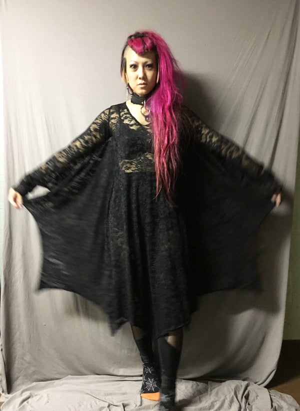 Image of Bat Lace Dress