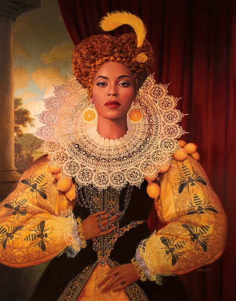 """Image of Beyoncé 11"""" X 14"""" Archival Print"""