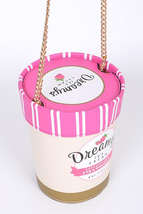 Image of Ice Cream Pint Crossbody