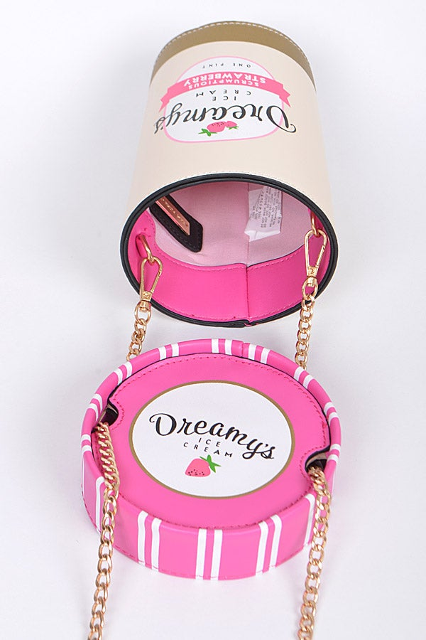 Image of Ice Cream Pint Crossbody