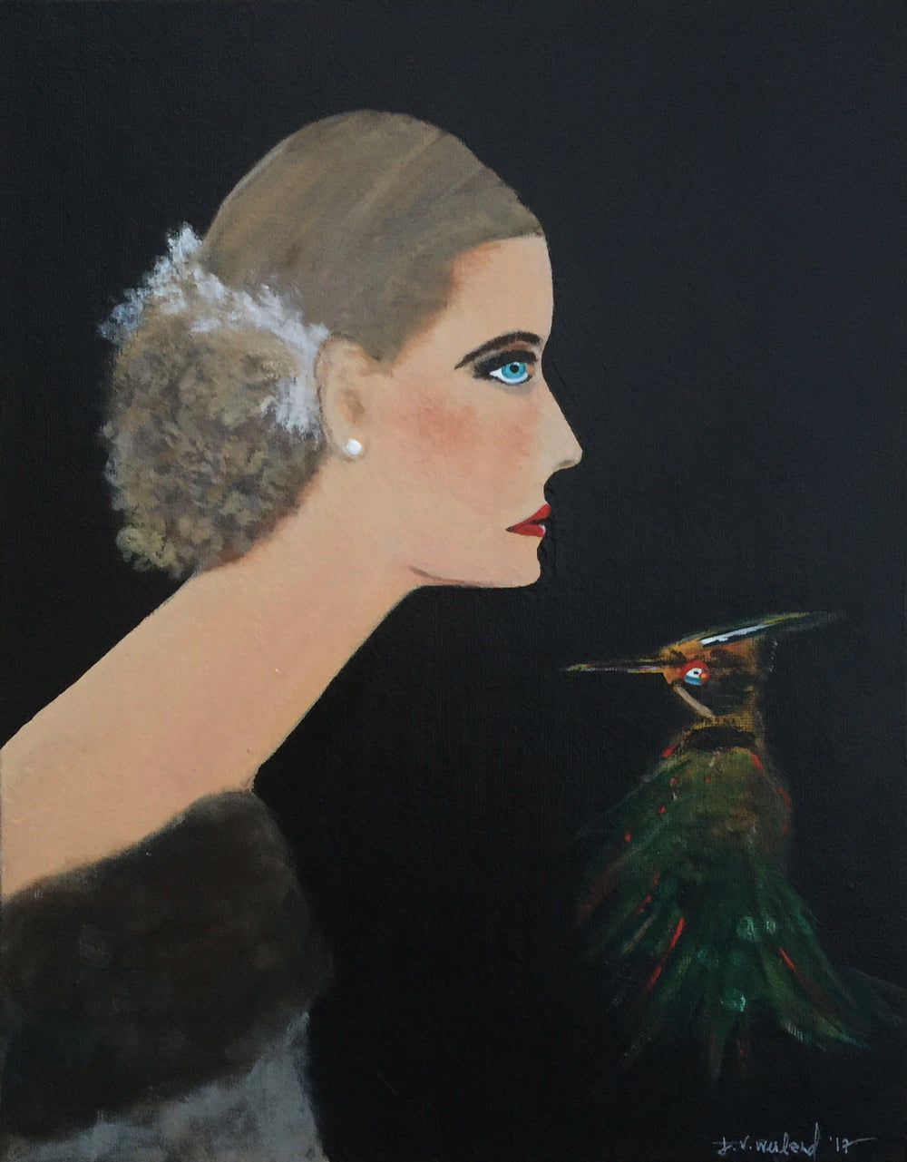 Image of Gitte + Bird III