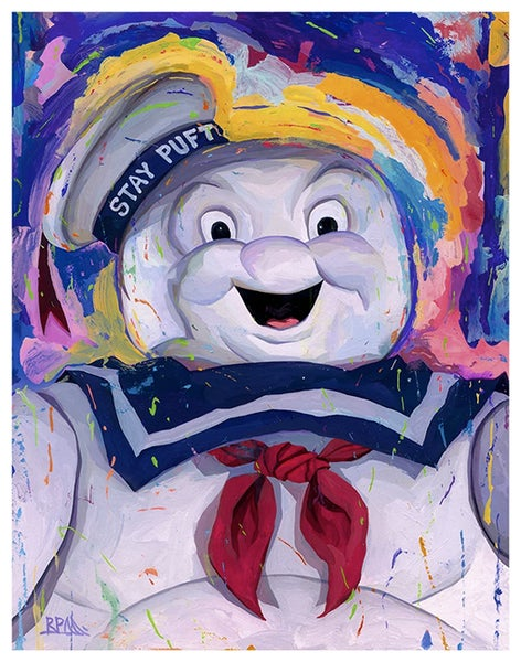 Image of Stay Puft Marshmellow Man 11x14 Print