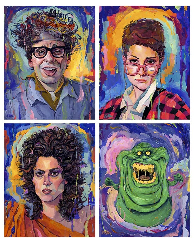 Image of Ghostbusters Part II 16x20 Print