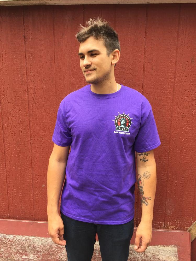 Image of Purple Shirt