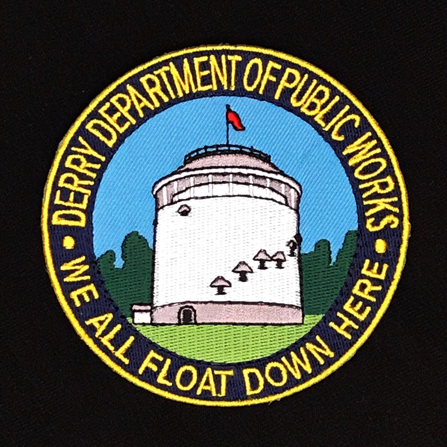 Image of Derry Department of Public Works Uniform Patch