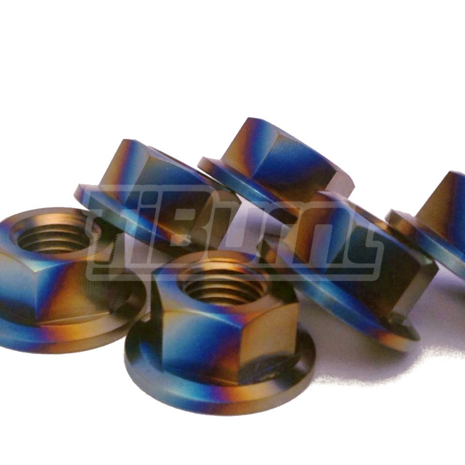 Image of Honda Civic - Rear Titanium Strut Tower Nuts