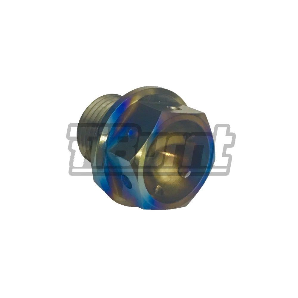 Image of TiBurnt Titanium Magnetic Oil Drain Plug