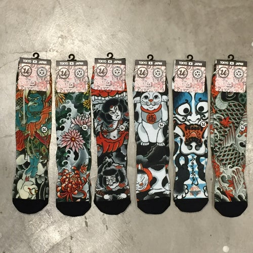 Image of IREZUMI SOCKS KOI by MUTSUO