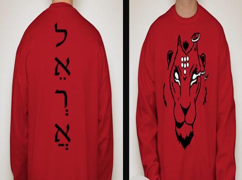 Image of Red Romance Sweatshirt