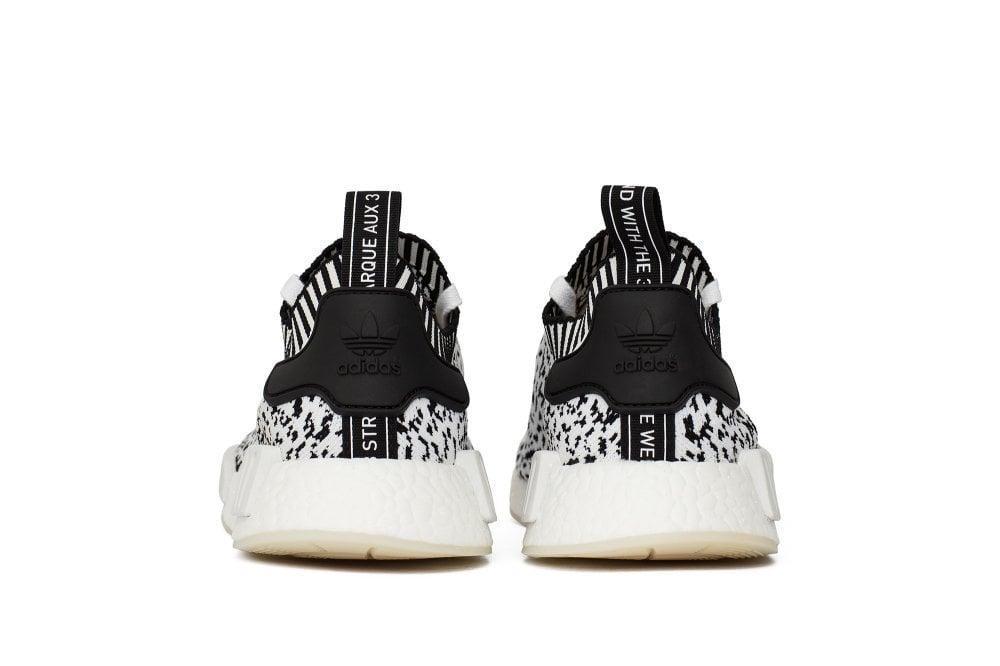 "Image of adidas NMD R1 Primeknit ""Zebra Pack"" White"