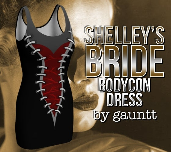 Image of Shelley's Bride Bodycon Dress
