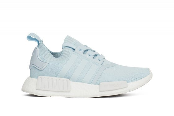 "Image of adidas NMD R1 Primeknit Women ""Ice Blue"""
