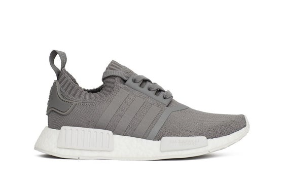 "Image of adidas NMD R1 Primeknit Women ""Grey Three"""