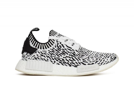 "Image of adidas NMD R1 Primeknit ""Zebra Pack"" White"
