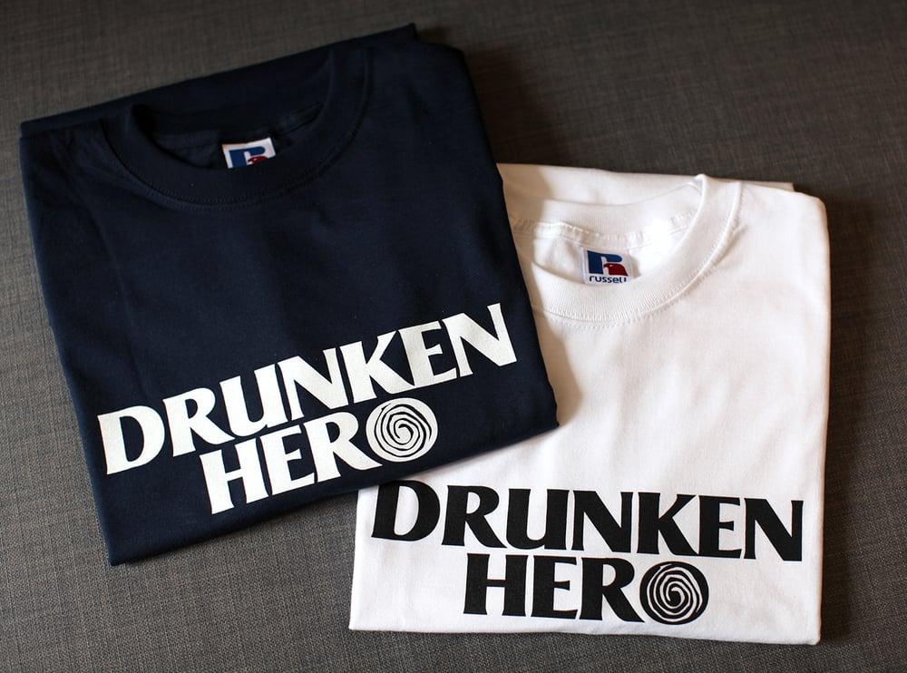 Image of T-SHIRTS DRUNKEN HERO COTON 215g/m²