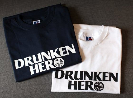 T-SHIRTS DRUNKEN HERO COTON 215g/m²