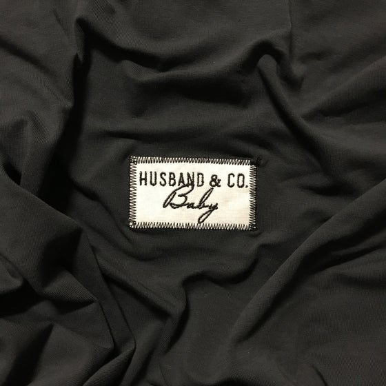 Image of Charcoal H&C Baby wrap
