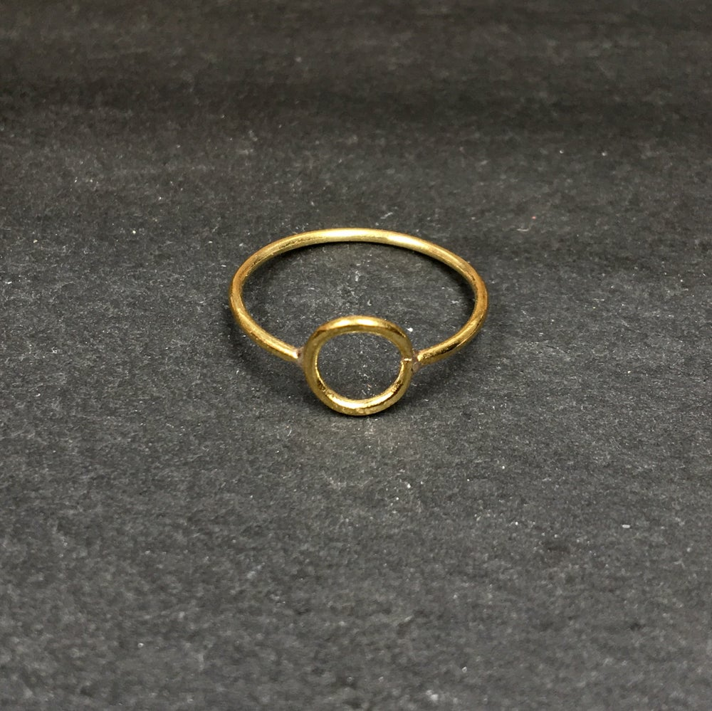 Image of Small pi ring