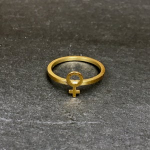 Image of Urkraft ring brass