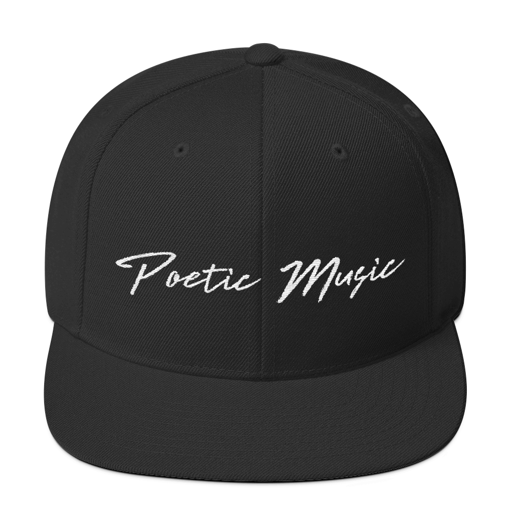 Image of Poetic Music Snapback