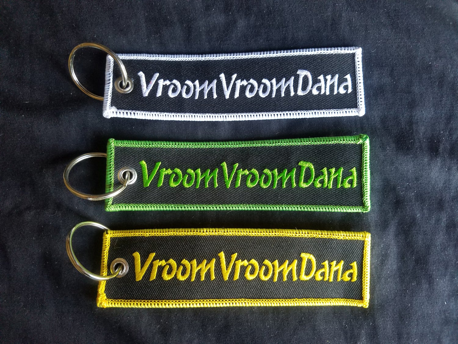 Image of Embroidered Keychain
