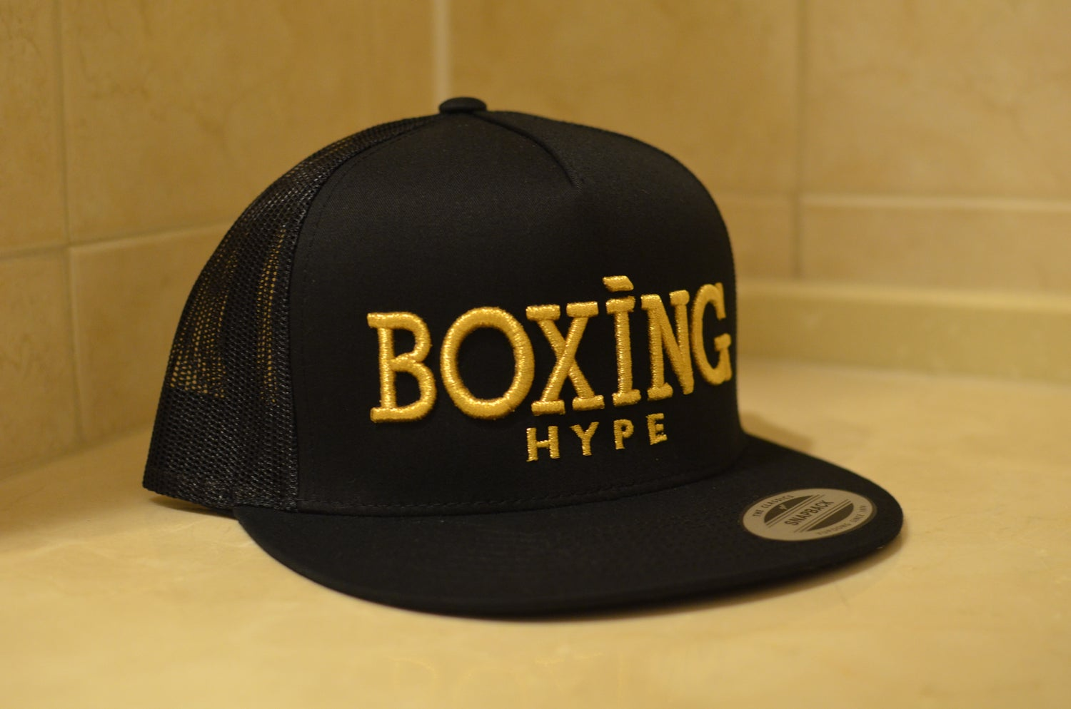 Image of Black Boxing and Tacos Trucker  SnapBacks