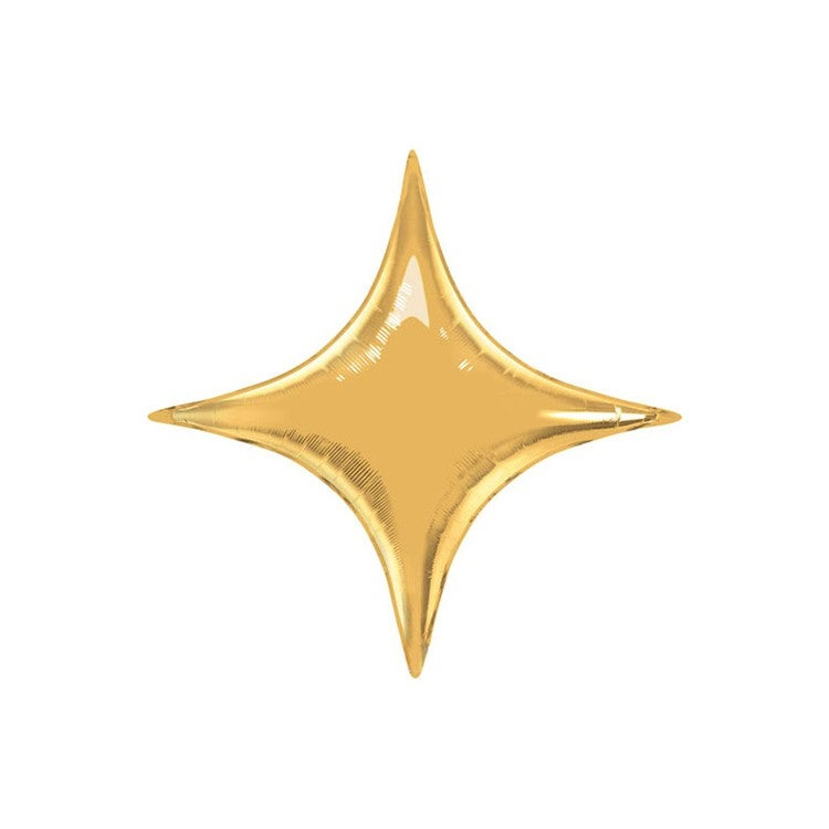 Image of Gold Starpoint Balloon - small