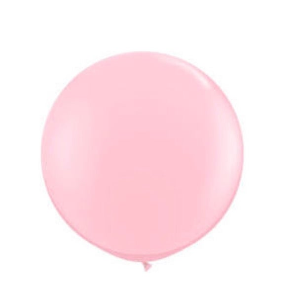 Image of Giant Round Balloons - Powder Pink