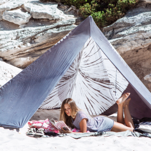 Image of SHIKOKU BEACHTIPI GREY (ALL SIZES) PREORDER