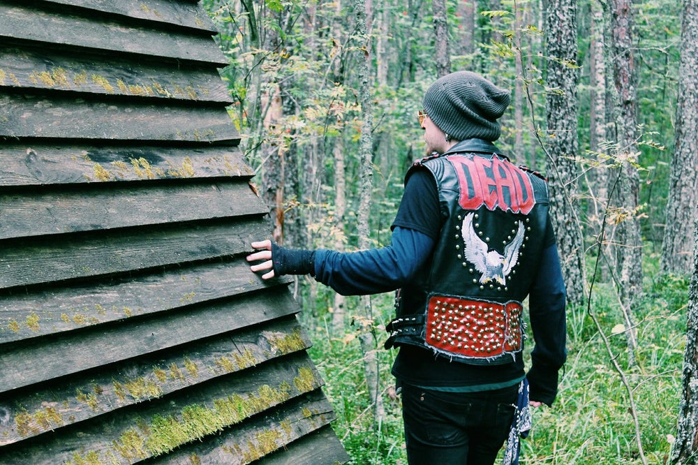 Image of Dead Leather Vest