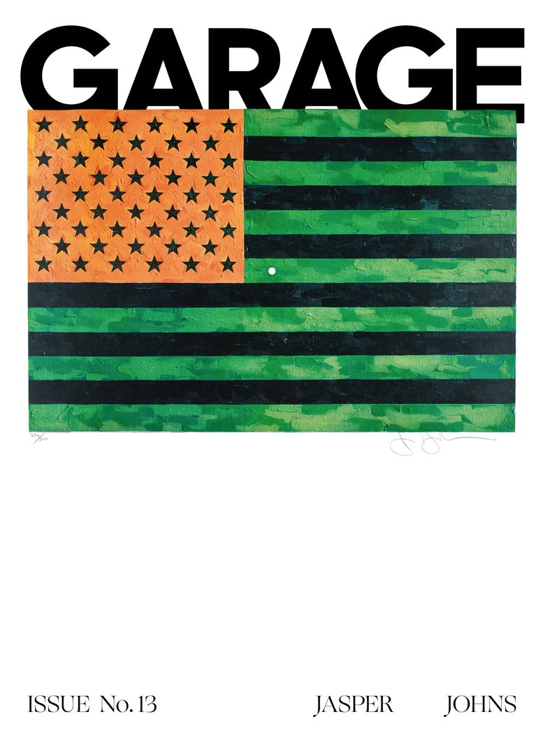 Image of GARAGE Magazine No. 13 - Jasper Johns special edition
