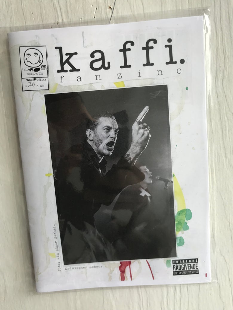 Image of kaffi fanzine Vol.#14 (2017)
