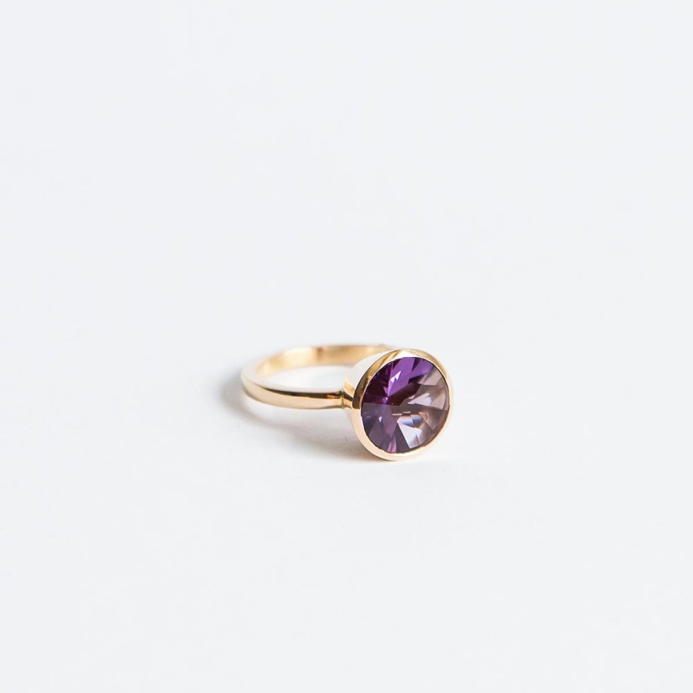 "Image of Amethyst Ring ""Star"""