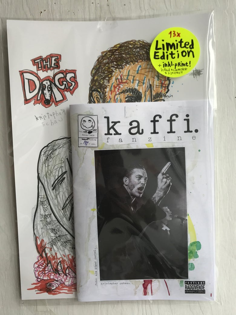 Image of kaffi fanzine Vol.#14 (2017) Limited Edition