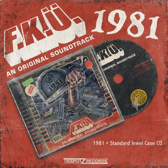 Image of F.K.Ü. - 1981 (Jewel Case CD)