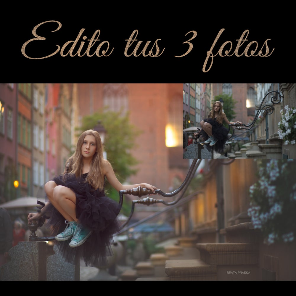 Image of EDITO TUS 3 IMAGENÉS / I EDIT 3 OF YOUR IMAGES.