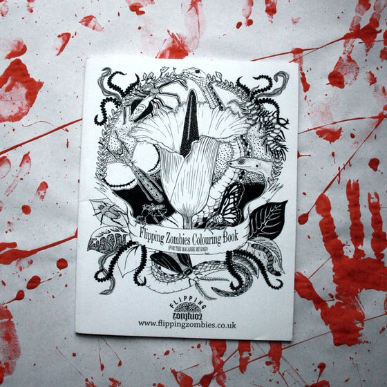 Image of Flipping Zombies Colouring Book