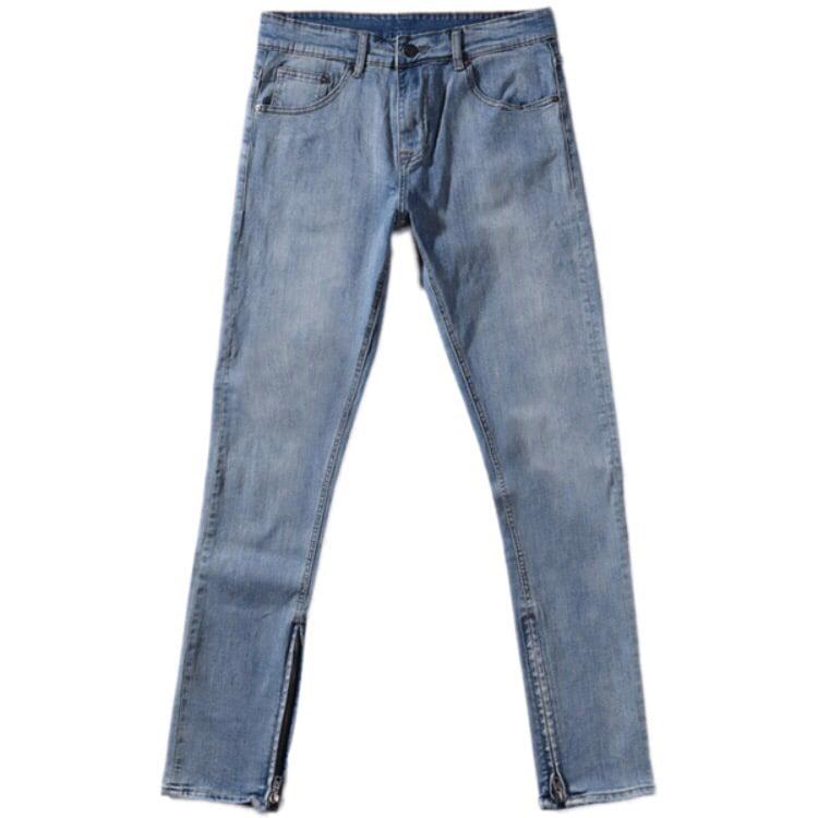 Image of Zip Up Denim Blue