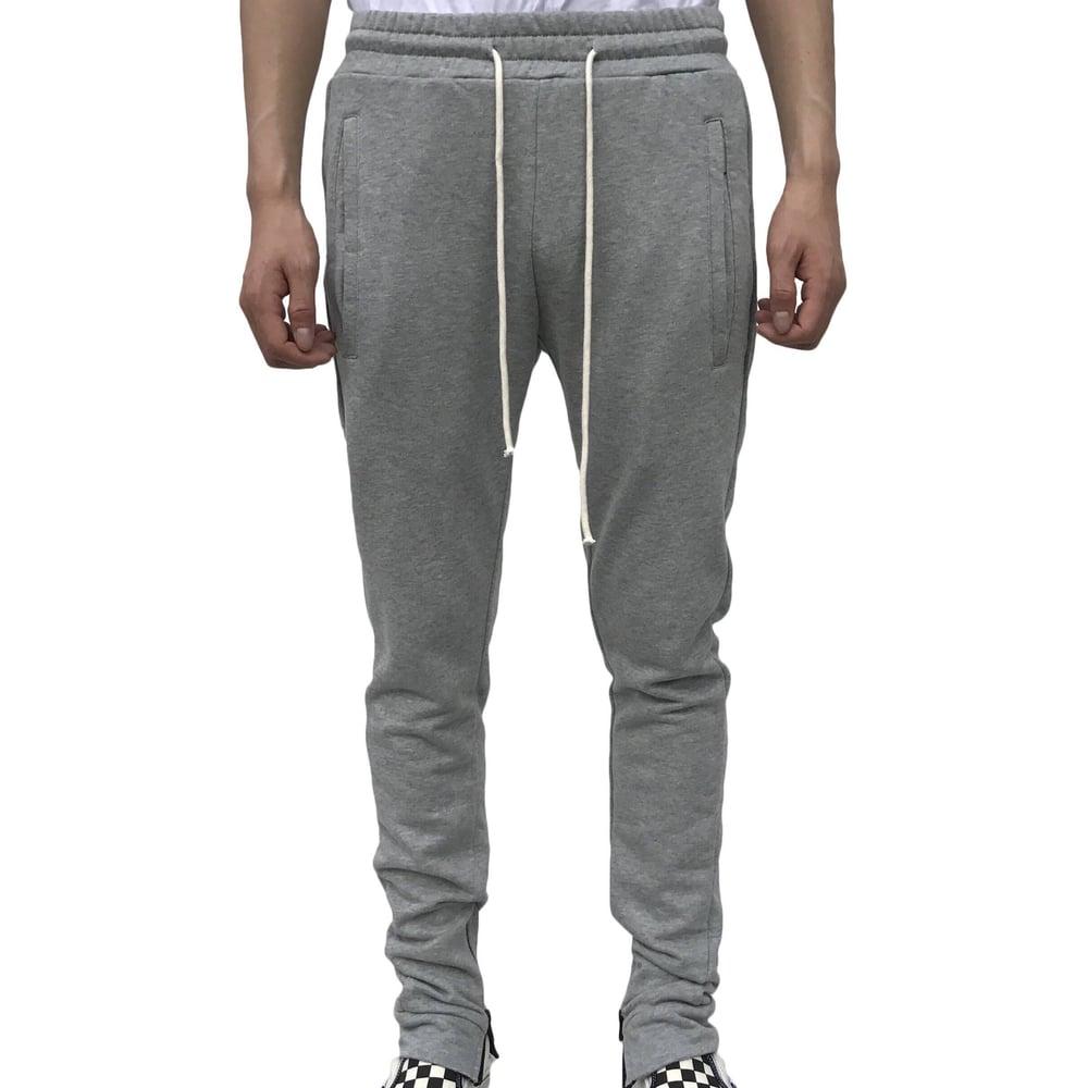 Image of Grey Zip Up Jogger