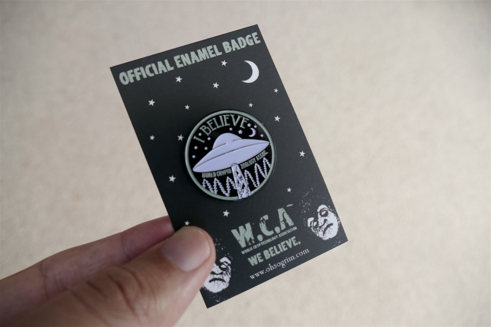 Image of WCA Official Enamel Badge