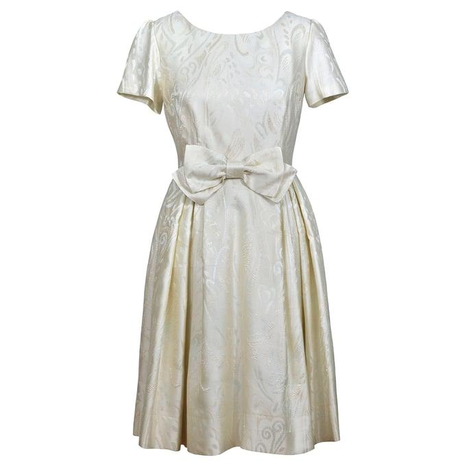 Image of 'Amalfi' dress in brocade
