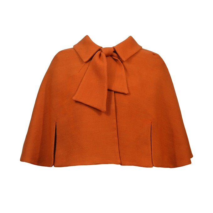 Image of 'Little Red Riding Hood' Cape in Burnt Orange