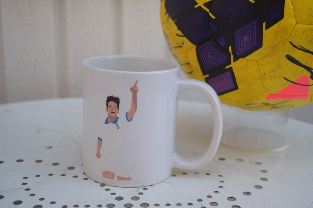 Image of Roberto Baggio Italy World Cup 1994 Mug
