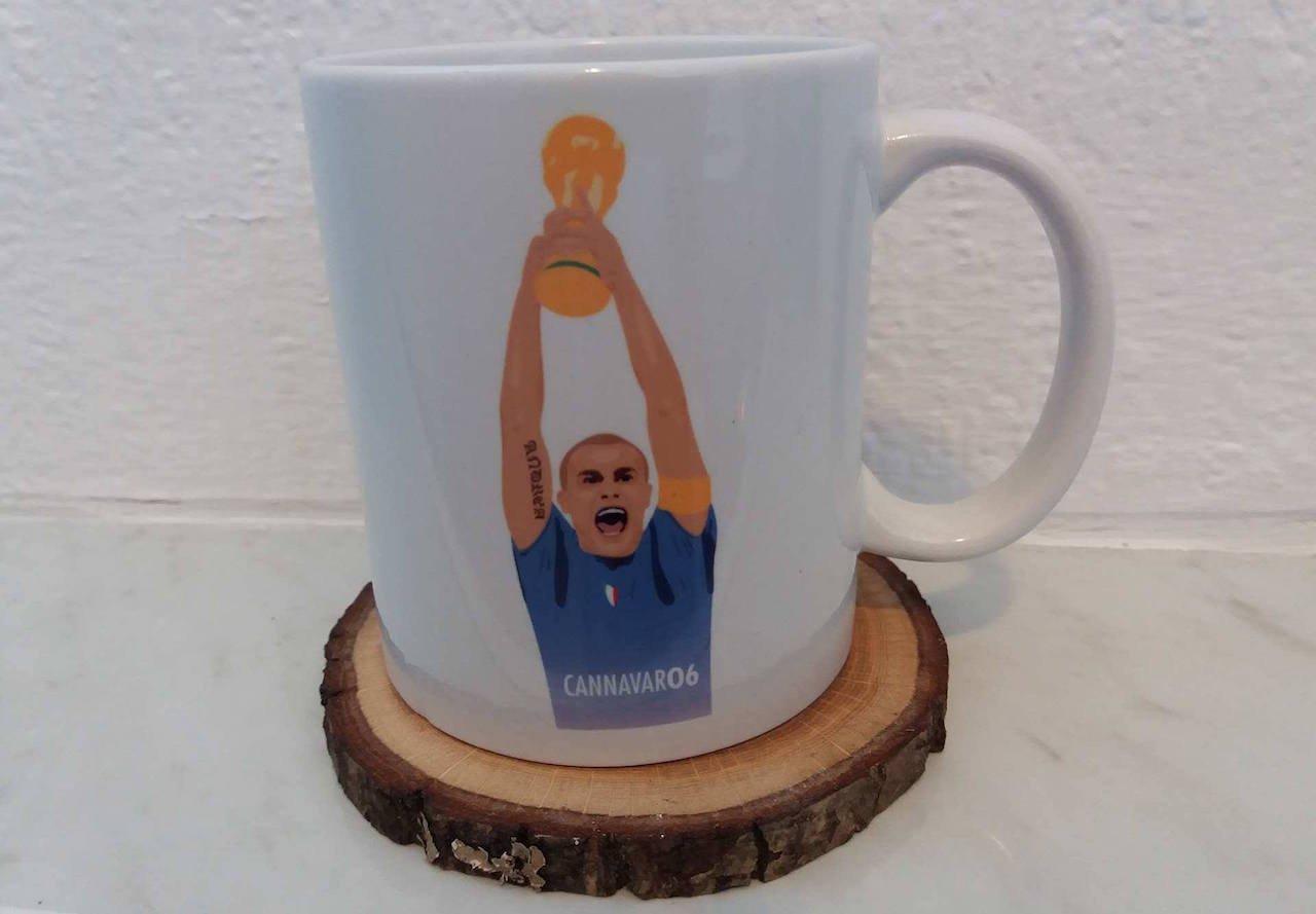 Image of Fabio Cannavaro World Cup 2006 Italy Mug